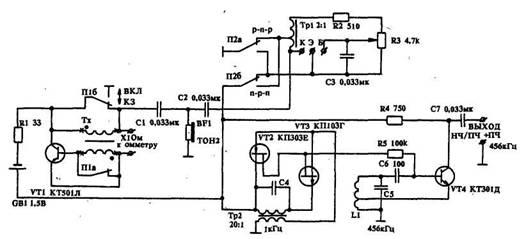 Устройство для настройки радиоаппаратуры