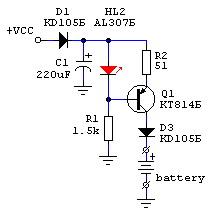 Универсальное зарядное устройство 1,5 В